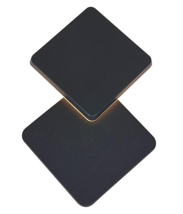Schuifbare vierkante lamp